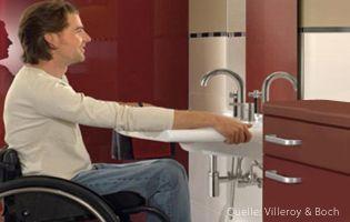 Sanitärtechnik-Pflegeheim